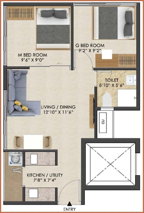 iconest5 floor plan one